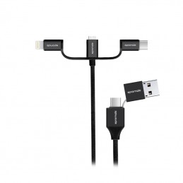 Promate 6 in 1 Charging Cable